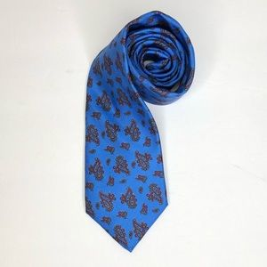 Christian Dior Men's Silk Blue Tie
